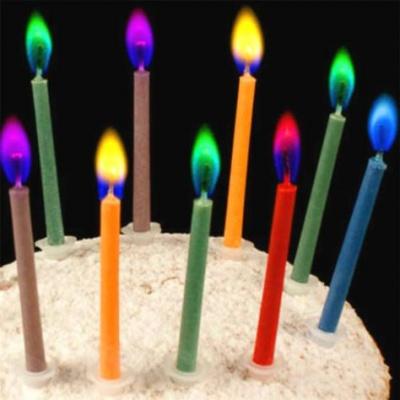 Разноцветни свещички