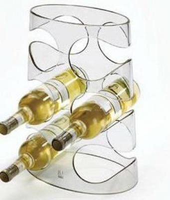 Поставки за вино - триетажен трапец