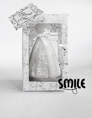 Свещ Сватбена рокля
