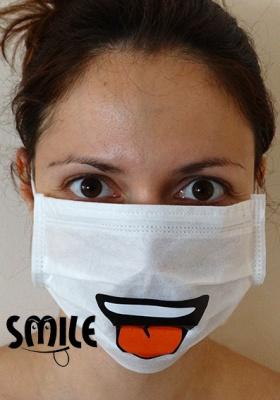 Зъболекарска маска Усмивка