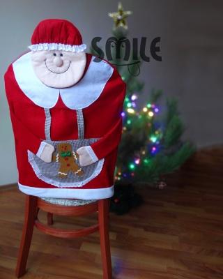 Калъф за стол баба Коледа