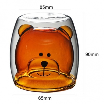 Чаша с двойни стени Мечо Пух