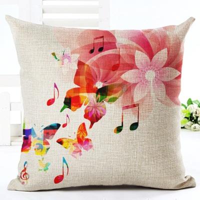 Възглавница Цветя и ноти