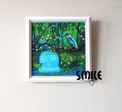 Картина Рибарче до водопада