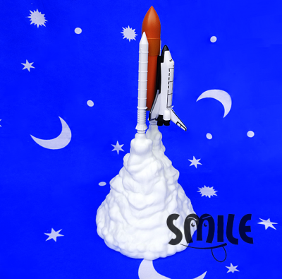 Нощна лампа ракета