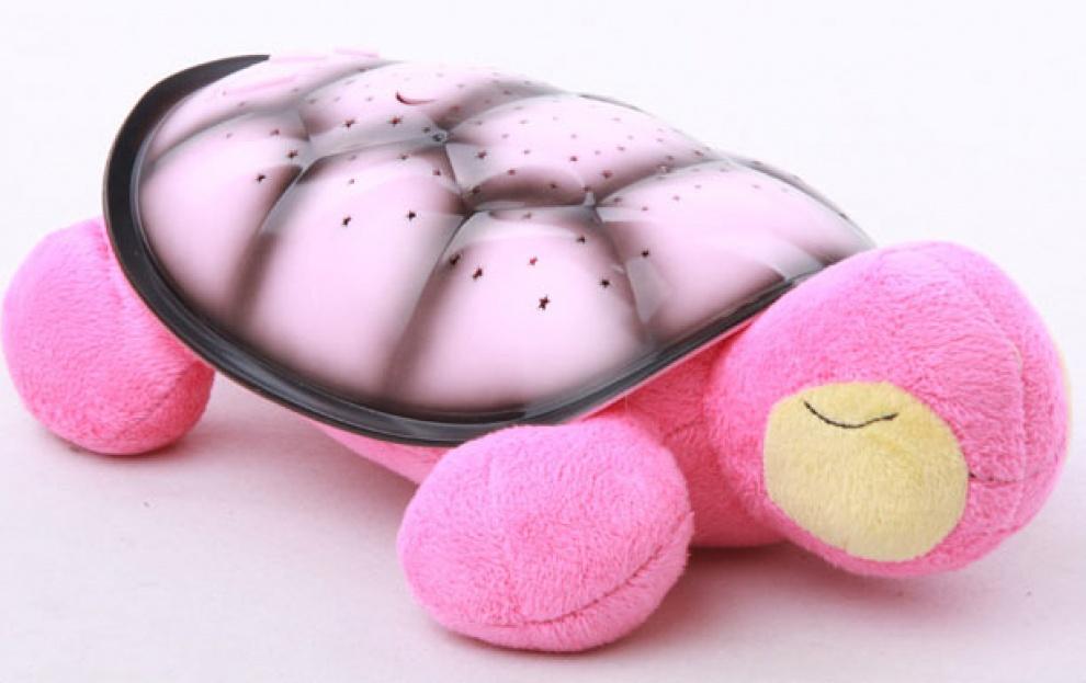 Музикална лампа костенурка Сънчо