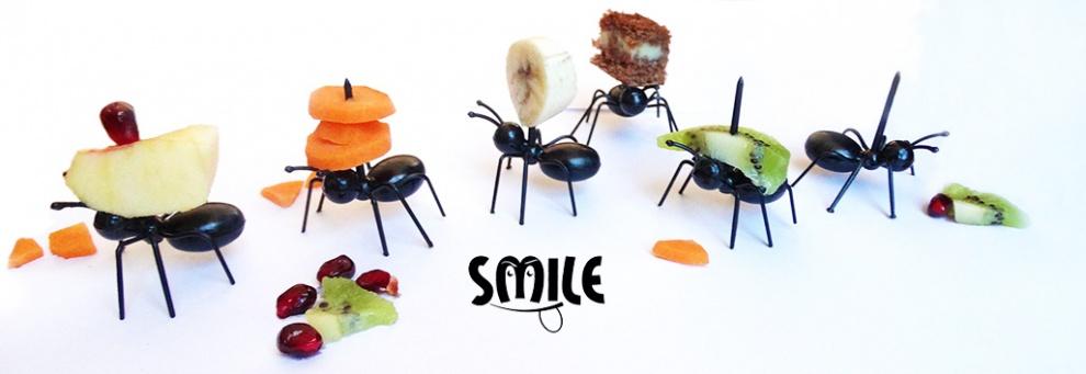 Клечки за коктейлни хапки тип мравки