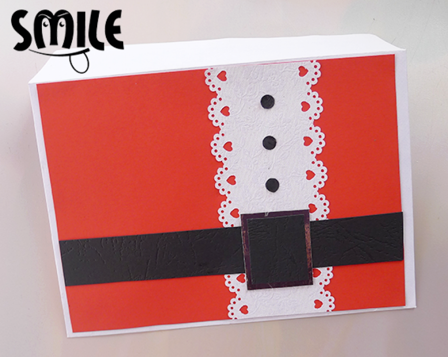 Декоративен плик за пари Колана на Дядо Коледа