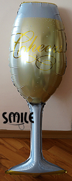 Фолиев балон чаша шампанско