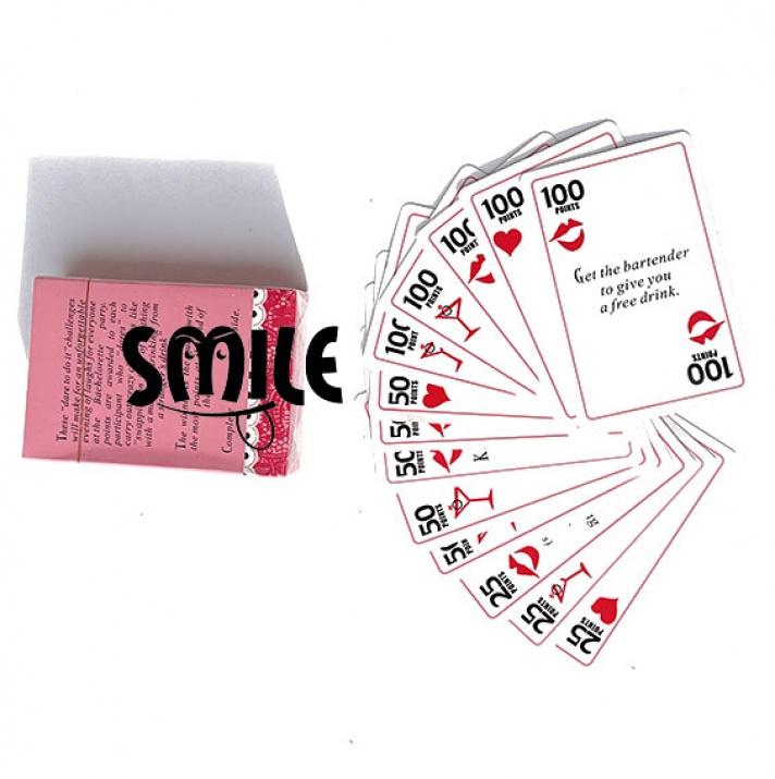 Карти за игра за моминско парти