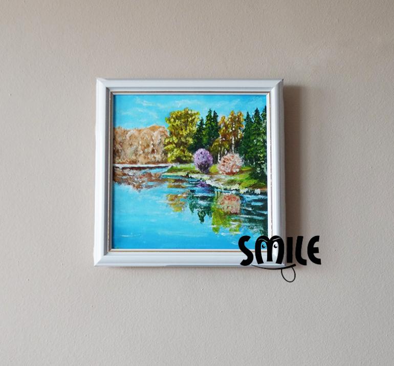 Картина Приказното езеро