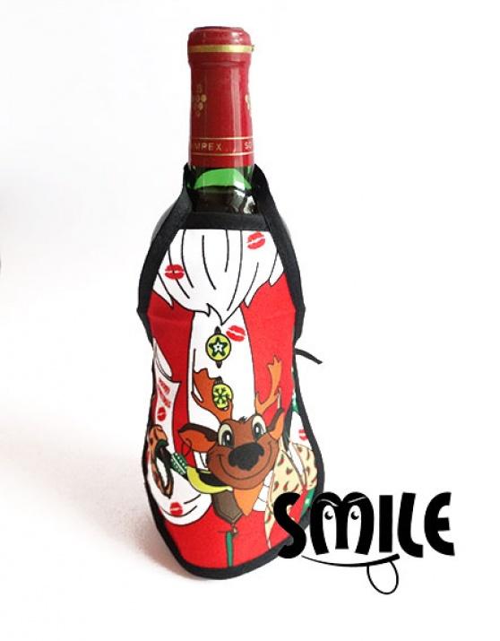 Коледни престилки за вино