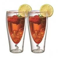 Чашa с двойни стени - тип тирбушон (голяма)
