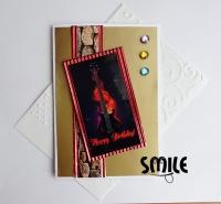 Картичка Рок китара