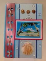 Картичка морски пейзаж с мида