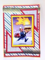 Картички за пожарникари