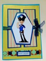 Картичка полицай