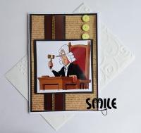 Картичка за адвокати и съдии