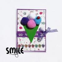Картички с кексчета, мъфини или сладодолед