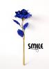 Позлатена роза - синя