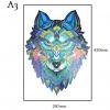 Вълк,форматА3