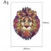 Лъв,формат А3