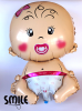 Балон бебе - момиченце