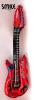 Балон китара - червена