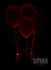 3D лампи - балони