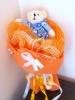 Букет облечено мече - оранжев