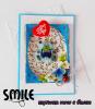Картичка Мече с балон