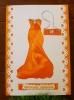Картичка: Модна дива - оранжева