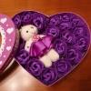 Сапун розички в лилаво